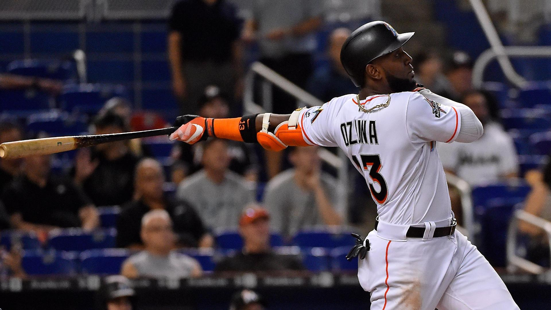 Ozuna homers in Marlins' win