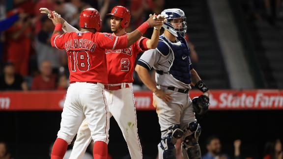 Angels take rubber game from Yankees