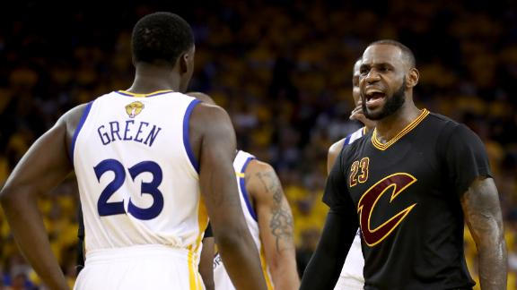 The full LeBron-Draymond beef