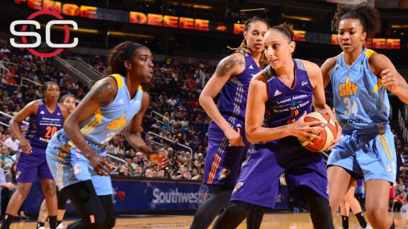 Taurasi inches closer to record in win