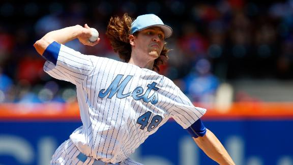 deGrom shuts down Nationals to lift Mets