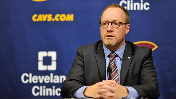 GM Griffin leaves Cavs in limbo