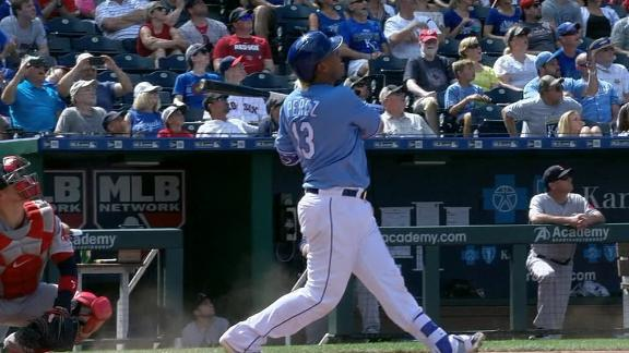 Perez wins it for Royals with first career grand slam