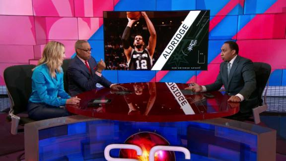 Stephen A. blames Aldridge for struggles with Spurs