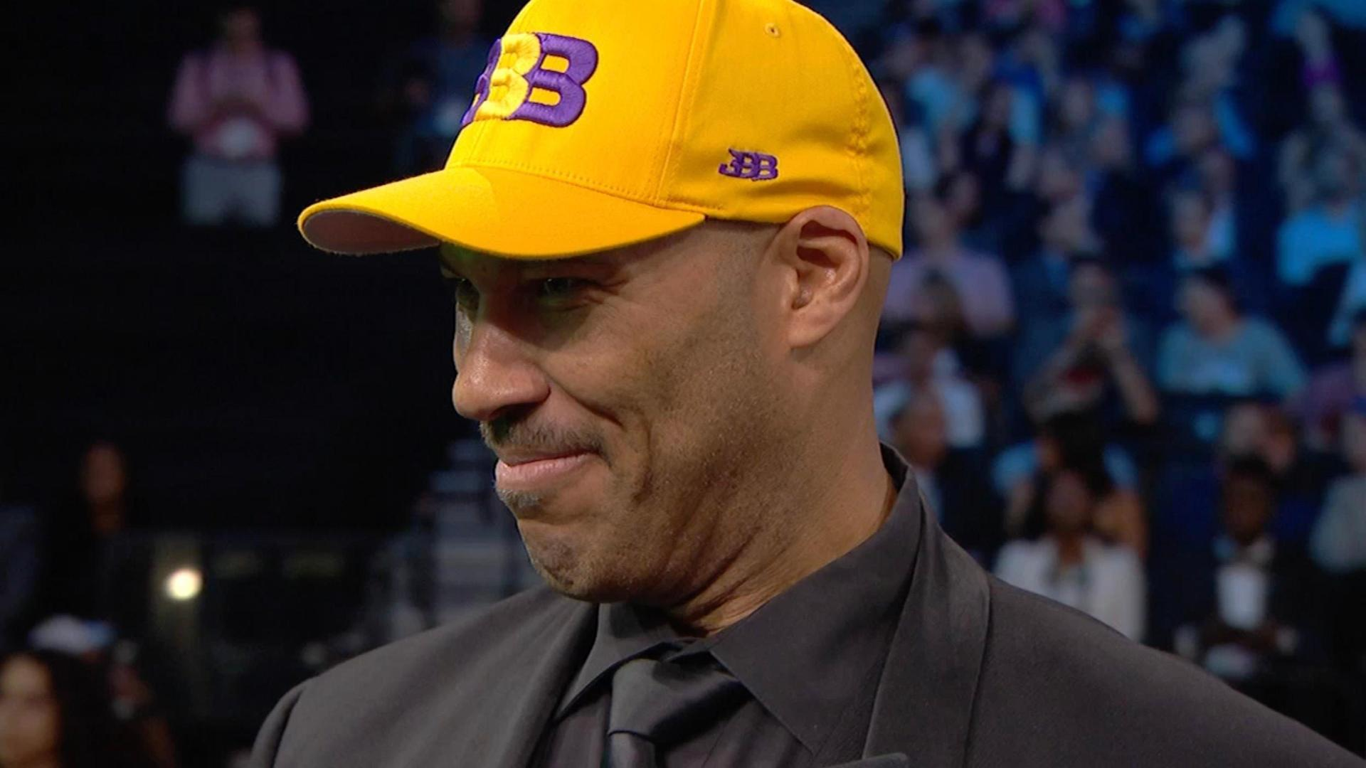 LaVar Ball: Always knew Lonzo would be a Laker