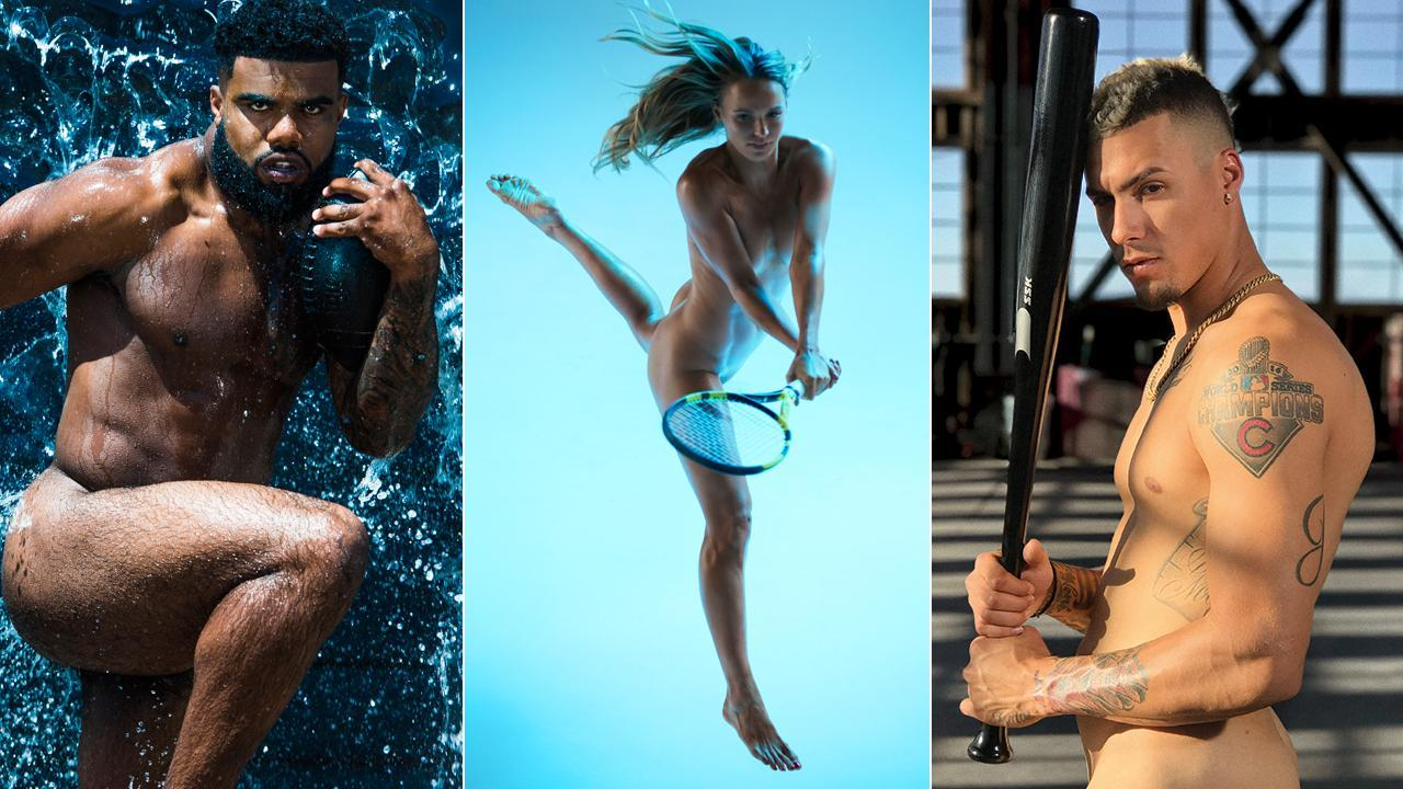 Behind the scenes with the athletes of the Body Issue