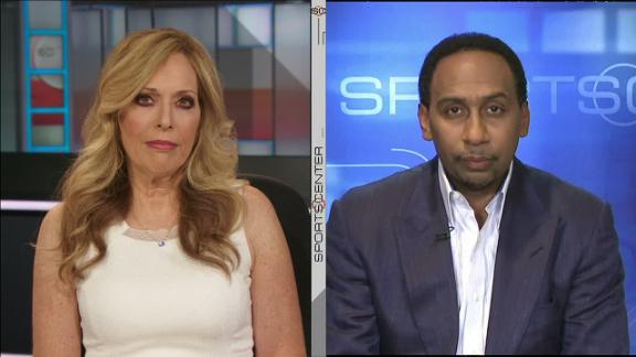 Stephen A. not expecting George to remain a Pacer through summer
