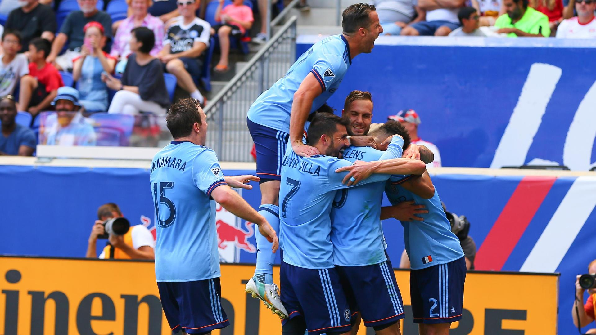 Red Bulls 0-2 NYCFC: Hudson River runs blue