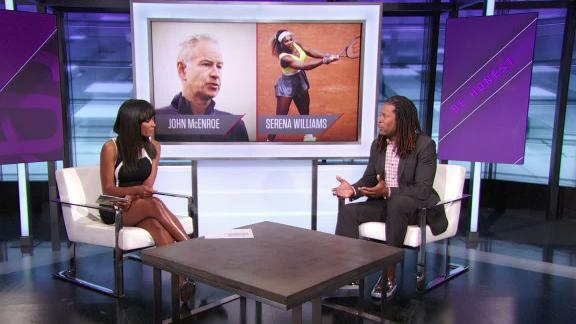 Granderson: McEnroe's comments about Serena disrespectful