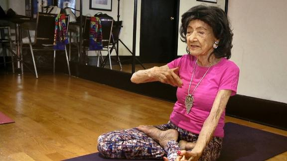 World S Oldest Yoga Instructor Tao Porchon Lynch 98 On Her Journey To Hollywood And Back To The Mat