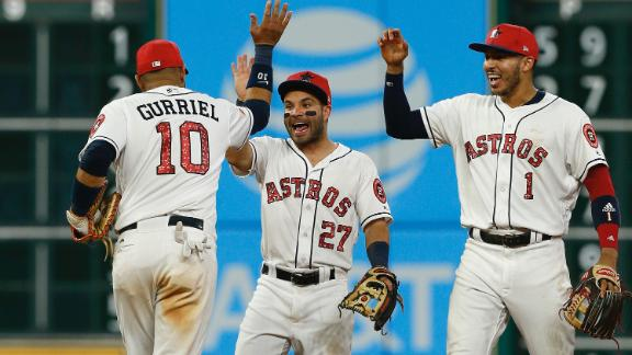 Astros rally past Yanks for thrilling win