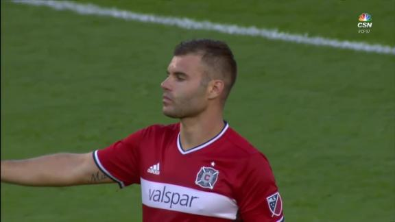 Chicago 4-0 Vancouver: Fire cruise - Via MLS