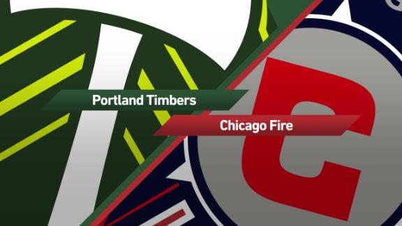 Portland 2-2 Chicago: Timbers halt Fire - Via MLS