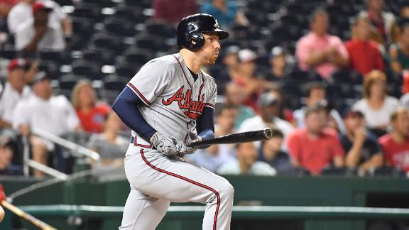 Freeman's 1,000th career hit pads Braves' lead