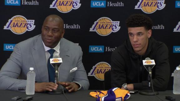 Magic, Lonzo ready to write next chapter for Lakers