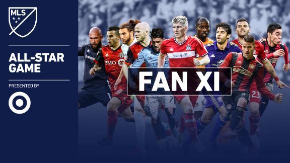 Villa, Giovinco, Schweini in MLS fan XI - Via MLS