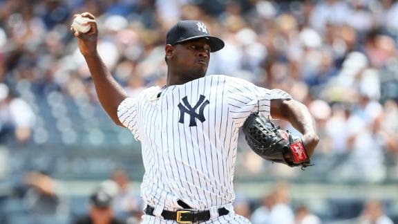 Severino has himself a game with 10 strikeouts