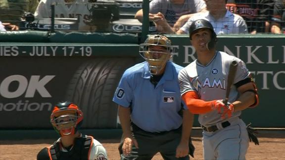 Stanton adds on two homers before the derby