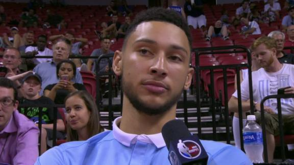 Simmons expects to play point guard