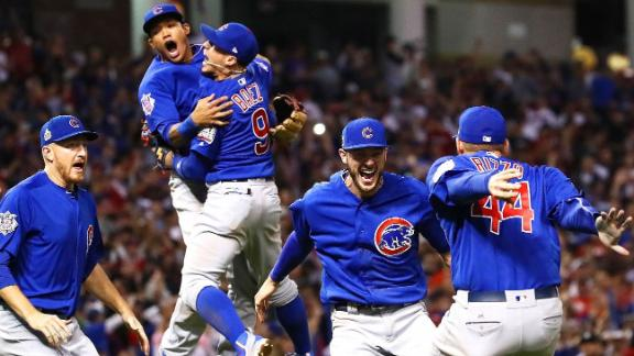End of Cubs' curse wins Best Moment