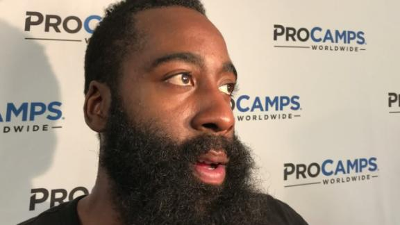 Harden says contract is 'credit to my work ethic'