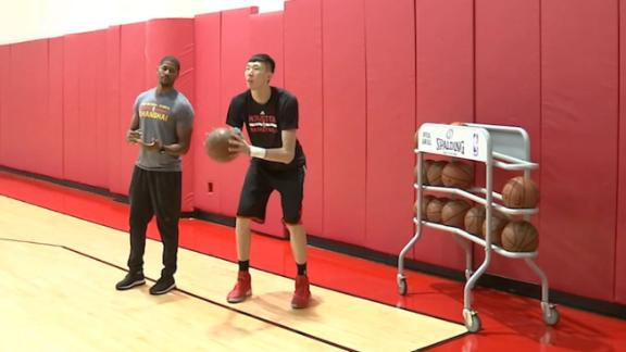 Behind the scenes with Zhou Qi