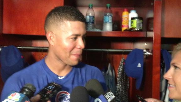 Quintana happy to be a Cub