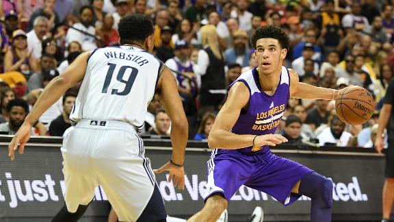 Lonzo shines again in summer league