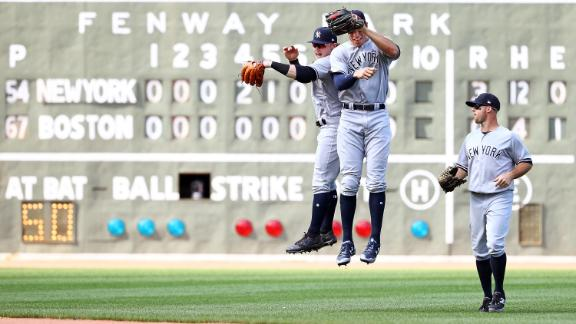 Yankees blank Sox in Game 1 of doubleheader