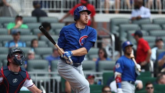 Cubs pitcher goes deep with solo shot