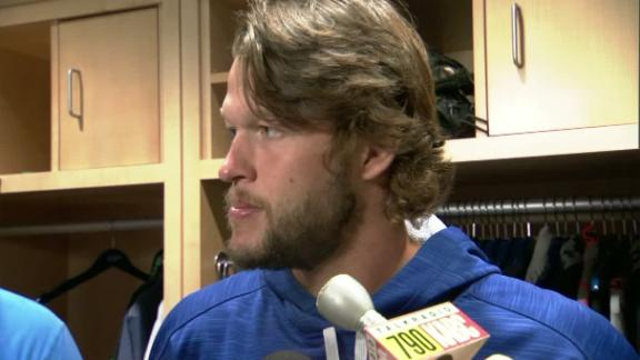 Kershaw frustrated with injury