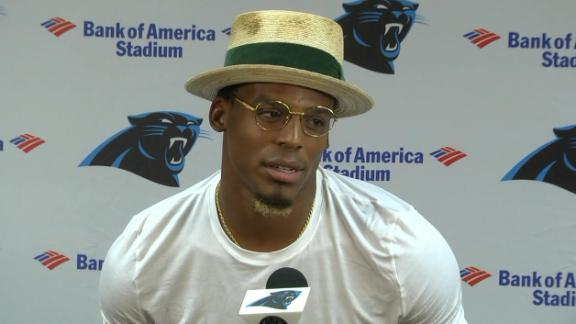 Cam defends run game: 'You expect a lion not to roar?'