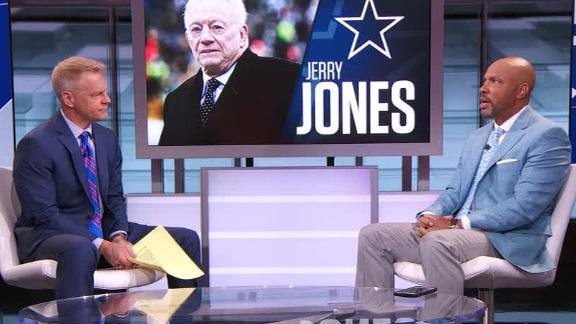 Dallas Cowboys owner and GM Jerry Jones hit by Hall of ...