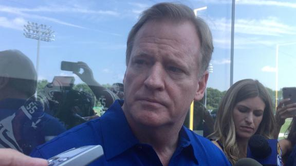 Goodell doesn't believe there is tanking in the NFL
