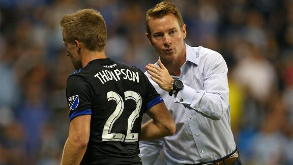 Leitch praises heart-stopping semi - Via Earthquakes