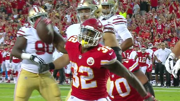 Ware plunges forward for TD