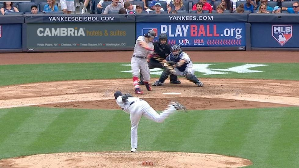 Benintendi rocks Yanks with pair of homers
