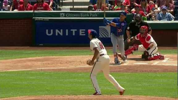 Conforto golfs a 2-run homer