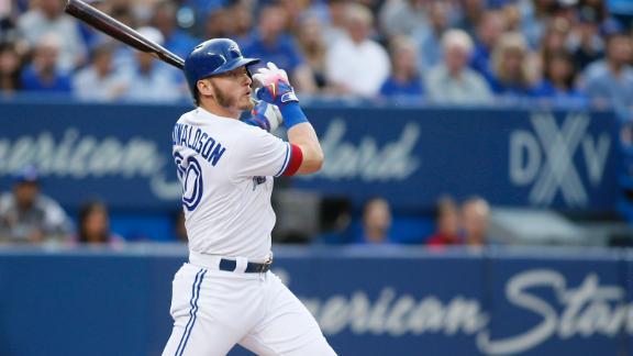 Donaldson crushes two-run dinger