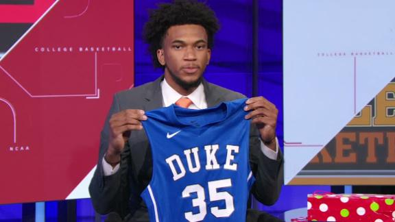 Bagley reclassifies to 2017, selects Duke