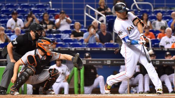 Stanton makes Marlins history