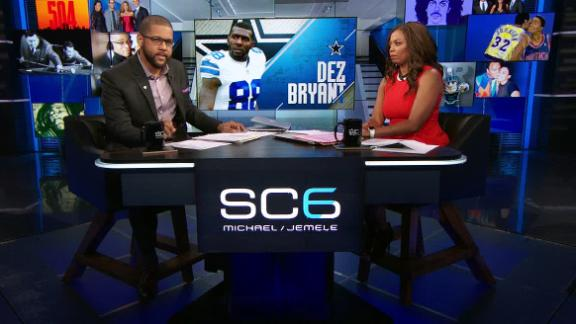 Michael scolds Dez over 'family to feed' remarks