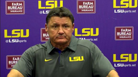 Orgeron not expecting Key to play in Week 1
