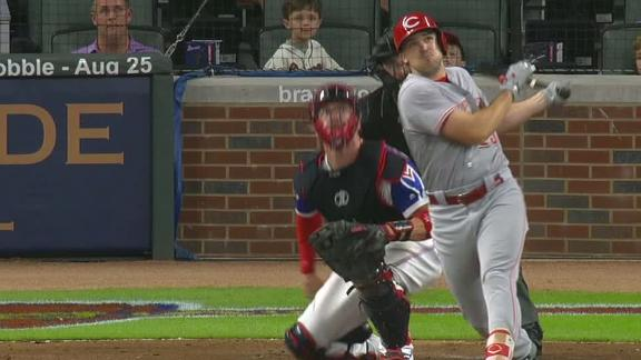 Duvall goes deep for 29th time this season