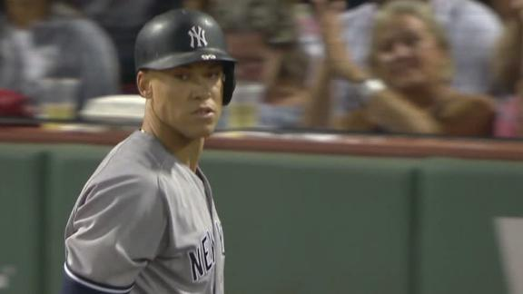 Judge sets record for consecutive games with a K