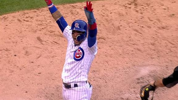 Cubs walk off on Avila's single