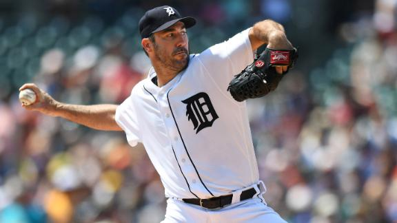 Verlander, Tigers snap Dodgers' win streak