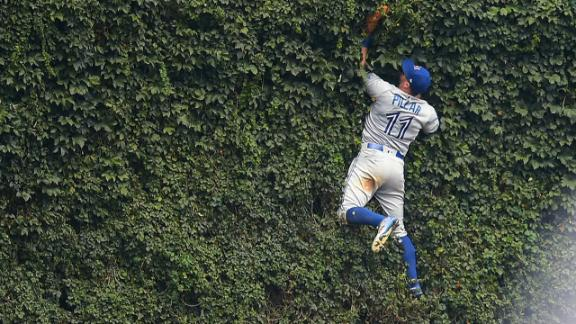 Pillar knows no bounds when it comes to catching a ball