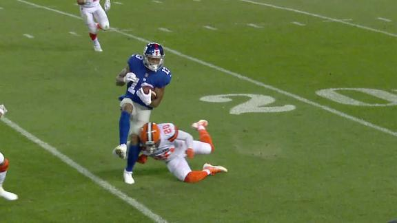 OBJ leaves with possible leg injury
