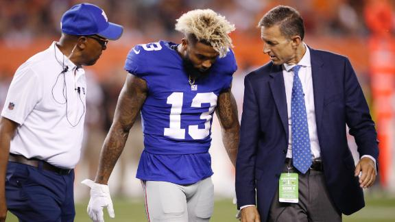 Beckham Jr. injury provides scare to Giants